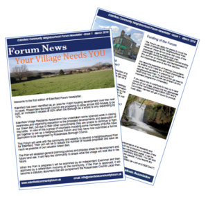 Image showing ECNF newsletter